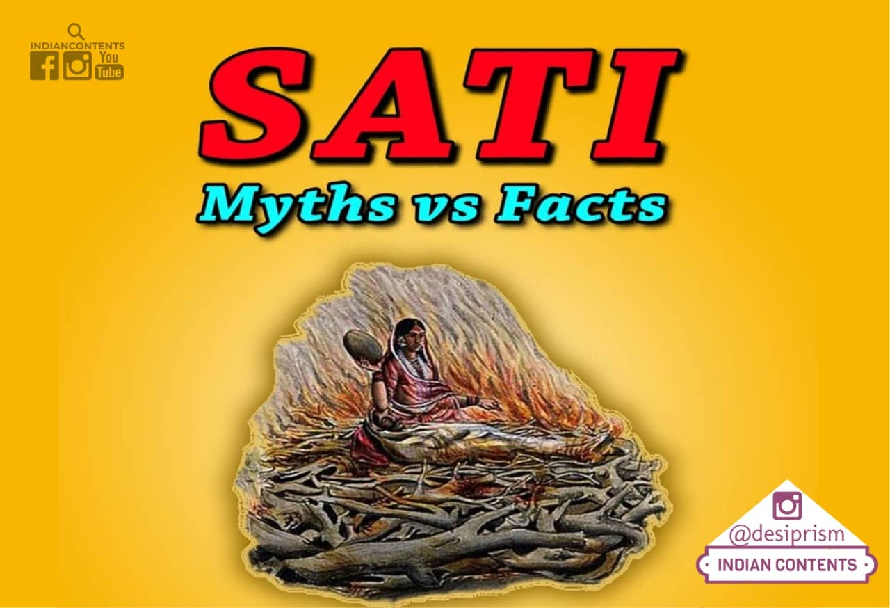 Sati Myths and facts IndianContents