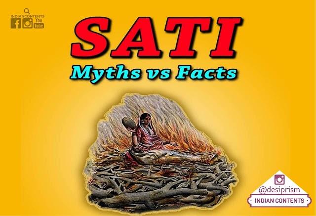 Sati : Myths vs Facts