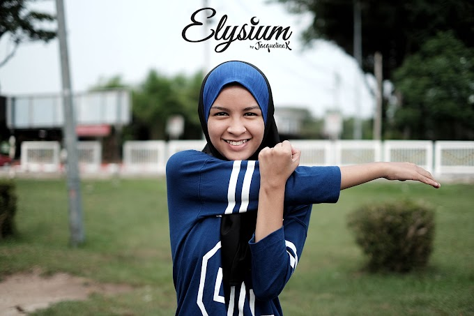 Tudung Jacqueline Elysium Sangat Sesuai untuk Bersukan