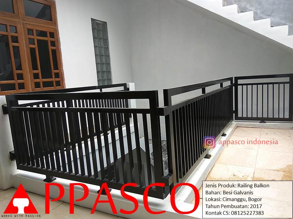 Railing Tangga Minimalis Di Cimanggu Bogor Railing Tangga