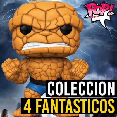 Lista de figuras Funko POP Los 4 fantásticos