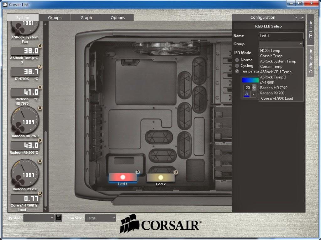 Quick Review: Corsair Link Lighting Node 38