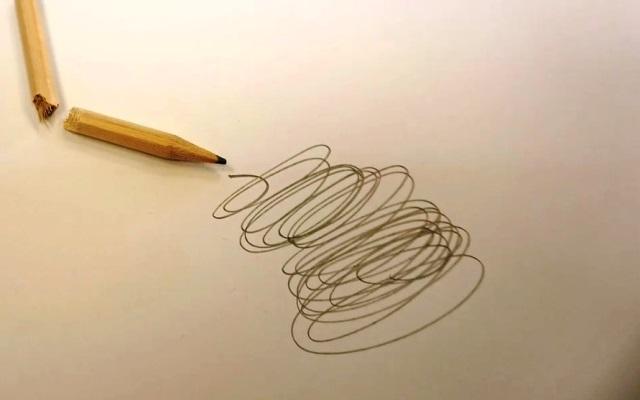 Ilustrasi menggambar dengan pensil