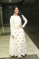 Megha Akash in beautiful White Anarkali Dress at Pre release function of Movie LIE ~ Celebrities Galleries 014.JPG