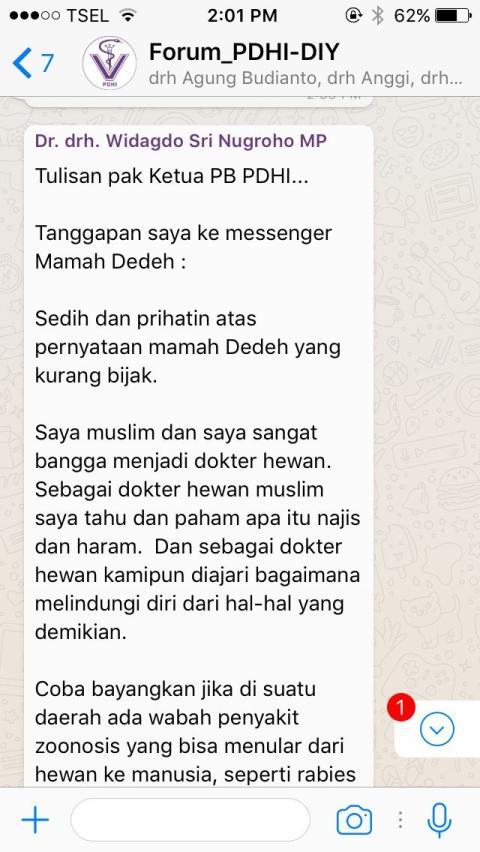 Pernyataan Terbaru Mamah Dedeh Tuai Banyak Kritik. Pasalnya, Ia Larang Muslim Jadi Dokter Hewan