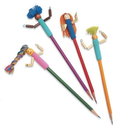 School Crafts: Pencil Buddies