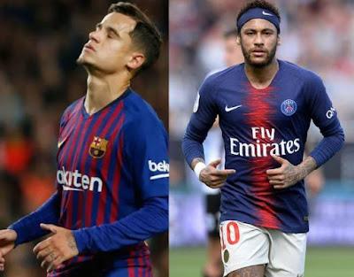 Tetesi za Soka Ulaya Leo Jumanne:Neymar, Coutinho, Maguire, Bruce, Fernandes, Alderweireld