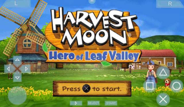 Download Harvest Moon Hero of Leaf Valley USA PPSSPP Android