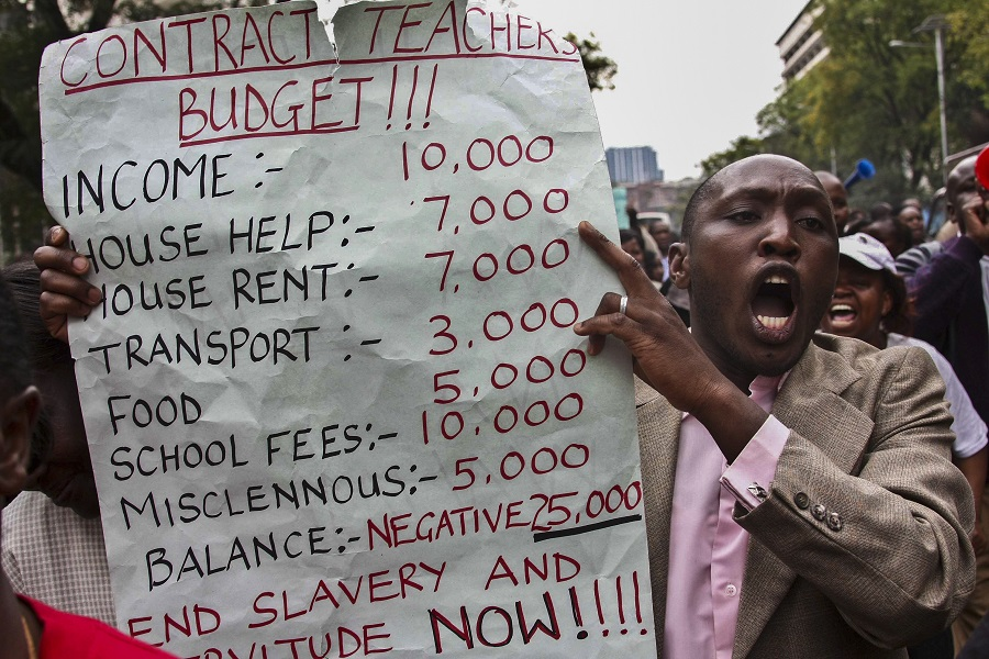 Kenyan Teachers' Salary Raise KUPPET KNUT