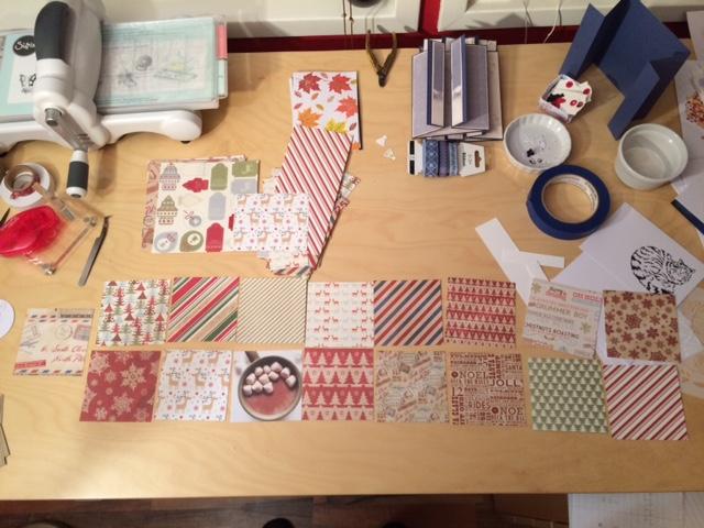 Julalbum och pappersval