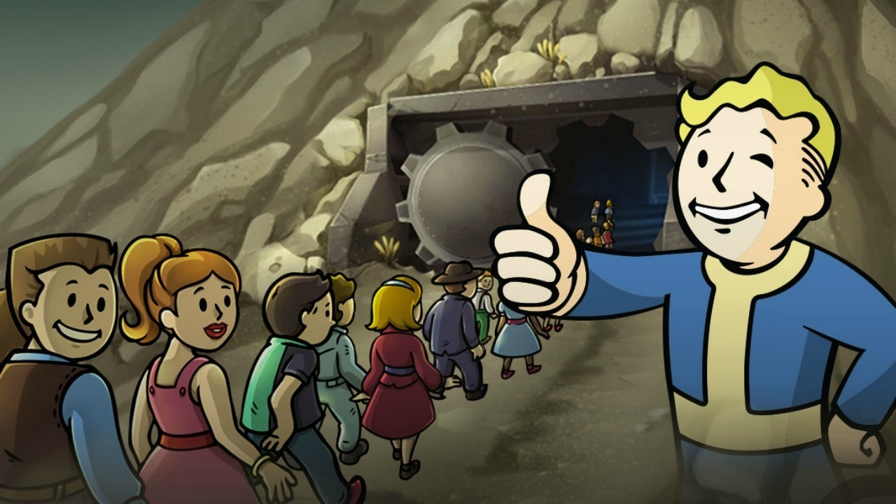 Software Rocket: Fallout Shelter Mod Android Apk+Data 225mb