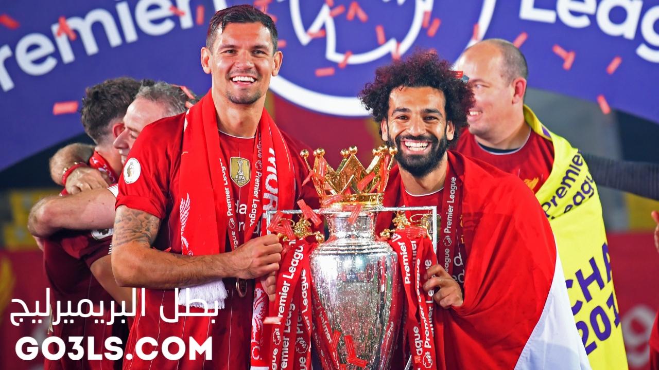 احتفال ليفربول ببطولة الدوري الانجليزي