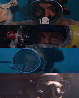 James Bond diving