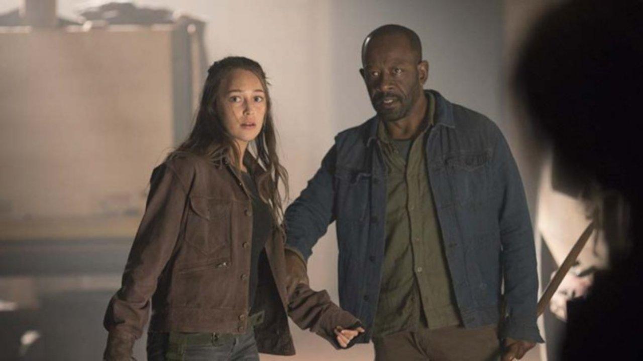 Alicia y Morgan en el 4x09 de Fear The Walking Dead