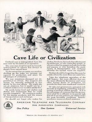 Cave Life or Civilization - AT&T