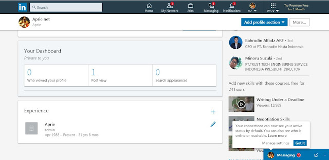 Cara menjadi influencer LinkedIn