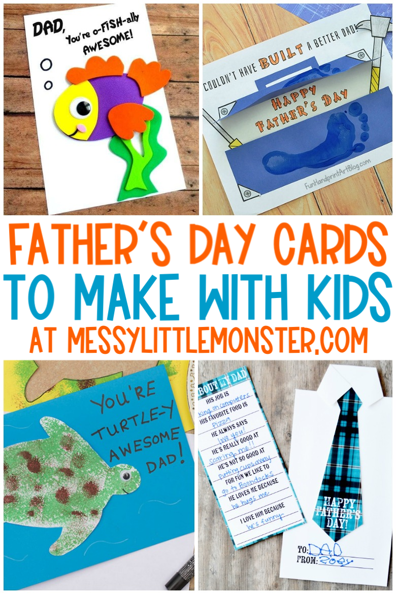 Father's Day Cards To Make With Kids