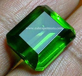 Batu Permata Green Tektite - ZP 225