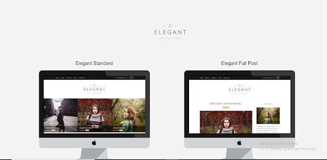Elegant Blogger Template