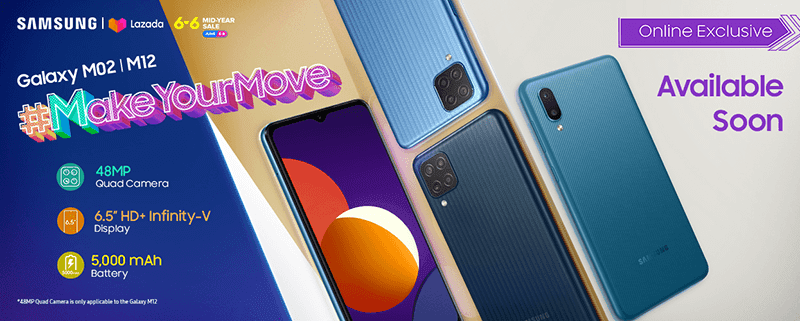 Samsung brings Galaxy M02 and M12 to the Philippines, starts at PHP 4,490
