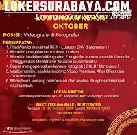 Walk In Interview at Dimsum Mbledos Surabaya Oktober 2020