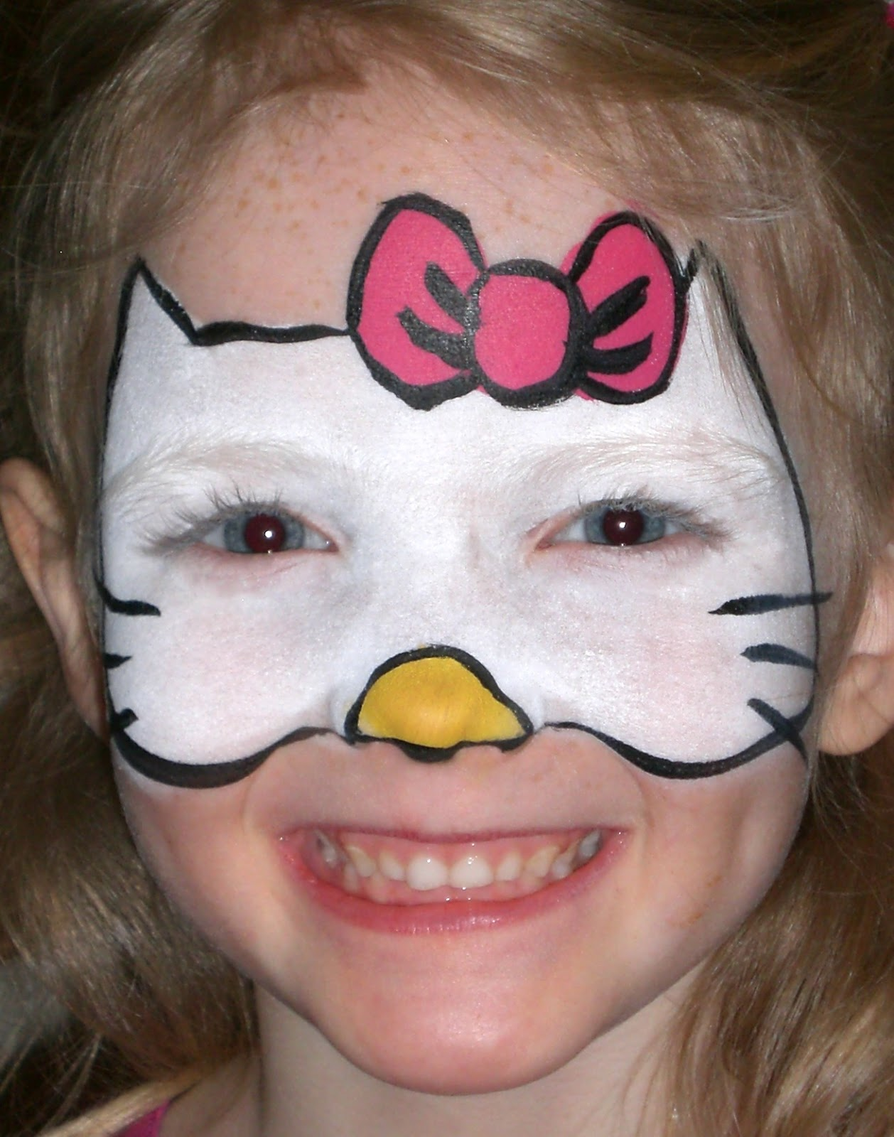 Cute face paint art project ideas and craft ideas cute face paint solutioingenieria Gallery