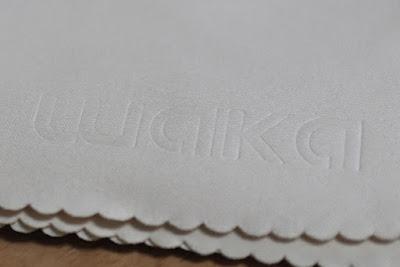 waka クリーニングクロス 6枚セット 20x20cm マイクロファイバー 超柔らかい、円弧エッジ画面保護、イエロー色埃簡単見え レンズクリーニング カメラ、メガネ、楽器、液晶画面など対応