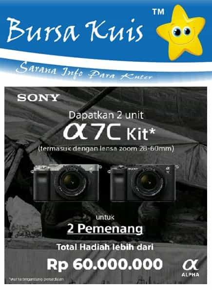 Kuis Online Terbaru Berhadiah Kamera Mirroless Sony
