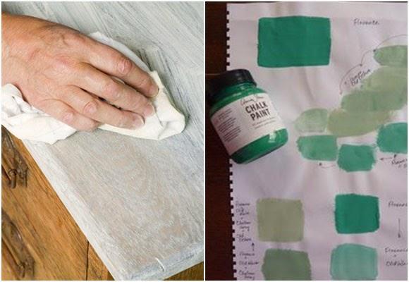 Marzua pintura de tiza muebles pintados sin lijar ni - Pintura ala tiza colores ...