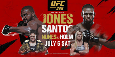 Ver repeticion UFC 239 Jones vs Santos En HD online