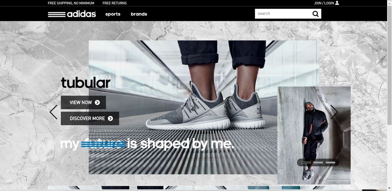 pas mal 45fe5 1c4ec Ultimate Shoe Shop: Nike and Adidas, SEO Analysis.