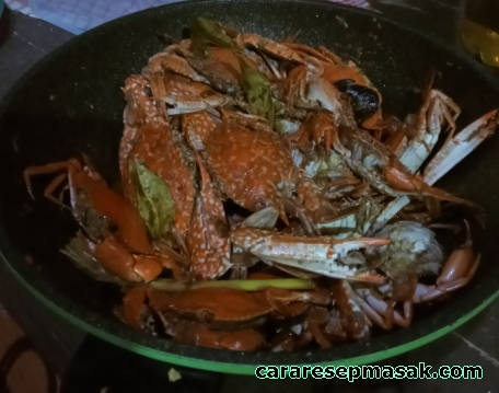 Resep Masak Kepiting Saus Tiram Pedas