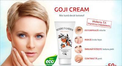 Cumpara de aici crema Goji Cream sterge varsta -reda tineretea