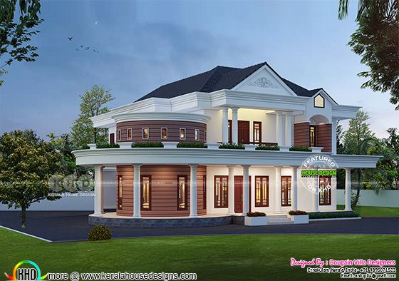 Beautiful modern 4 bedroom house rendering