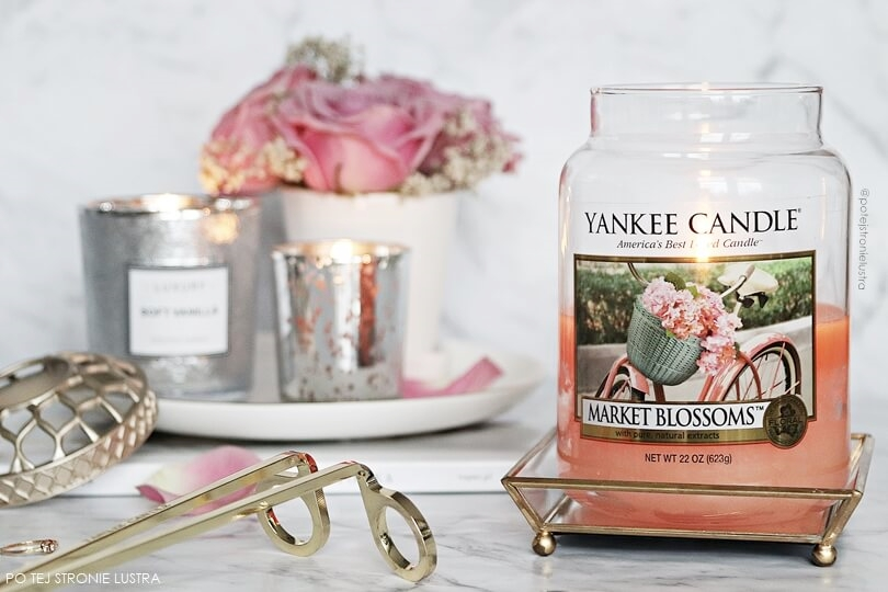 yankee candle market blossoms recenzja blog