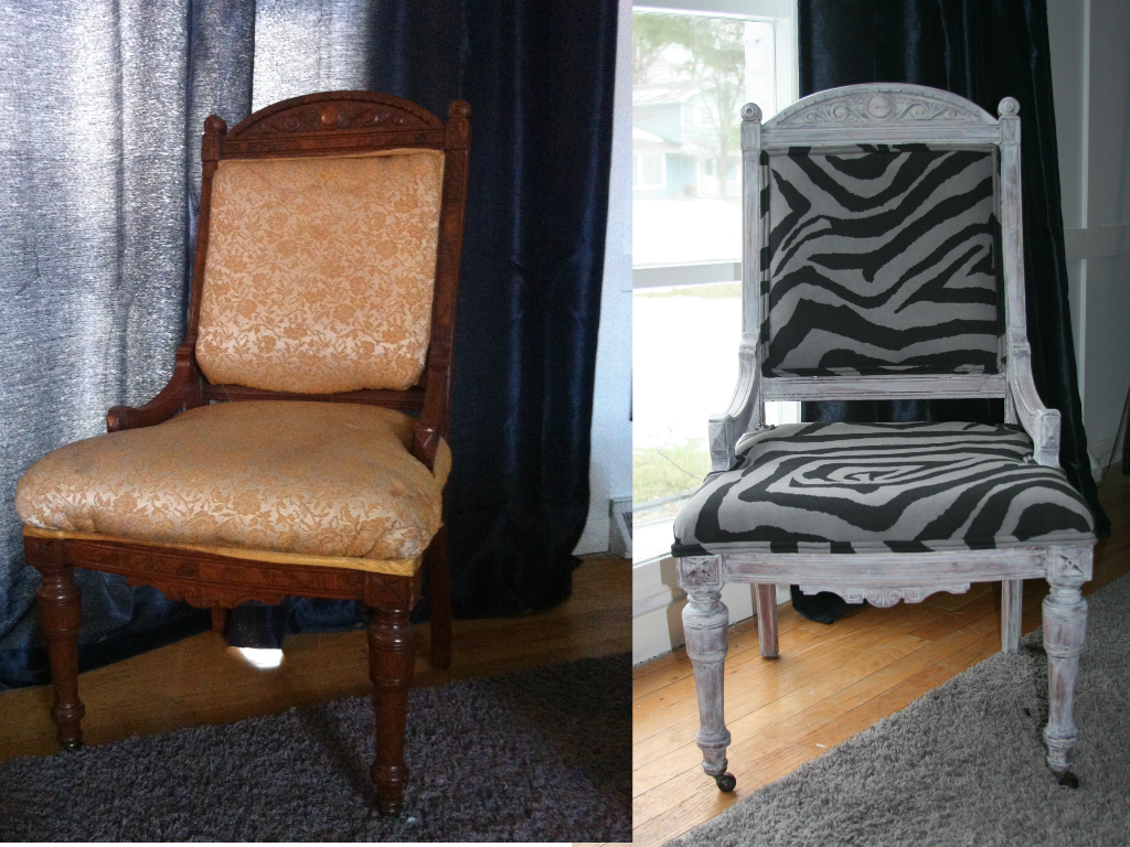 My Salvaged Home How To Reupholster An Antique Chair