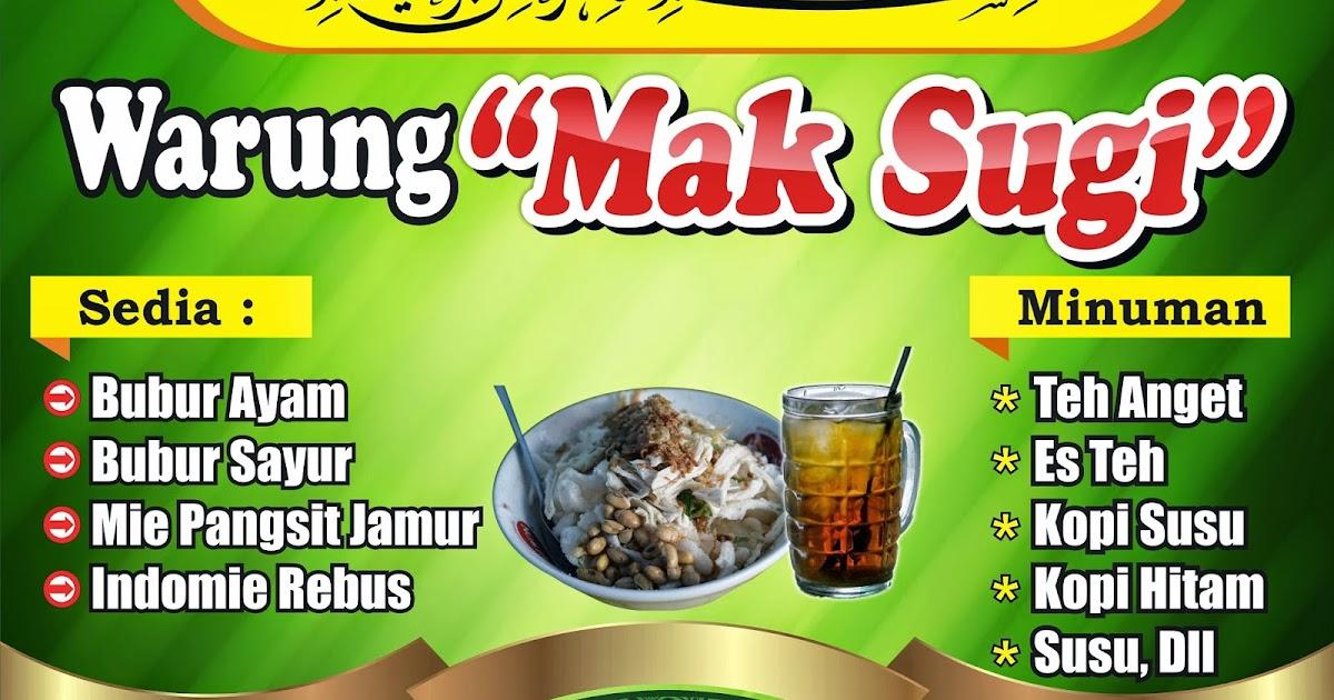 DAMEN ART: Desain Banner Warung Makan Cdr