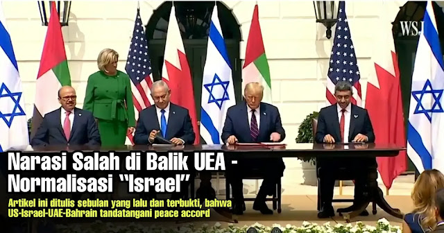 US-Israel-UAE-Bahrain tandatangani peace accord