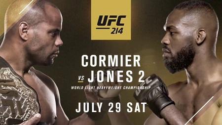 Assistir UFC 214  Daniel Cormier x Jon Jones AO VIVO Grátis em HD 29/07/2017 - Combate
