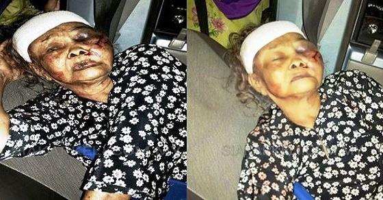 Mencuri Jagung Karena Kelaparan Seorang Nenek Dipukuli Hingga Babak Belur