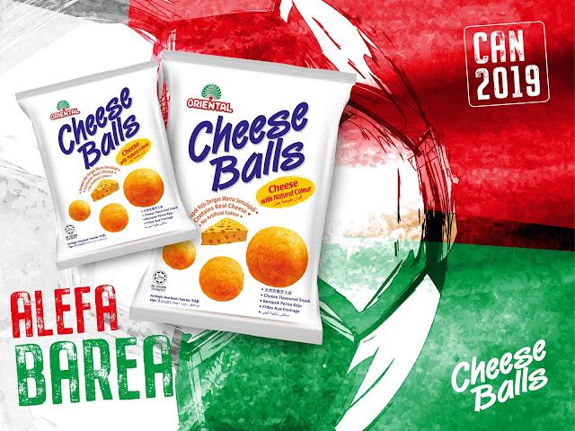 affiche publicitaire chaese balls Madagascar Alefa Barea