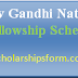 Rajiv Gandhi National Scholarship 2018 -19 Fellowship Exam Scheme SC ST OBC Candidates