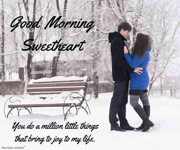 good morning sweetheart romantic images