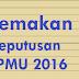 Semakan Keputusan SPMU 2016