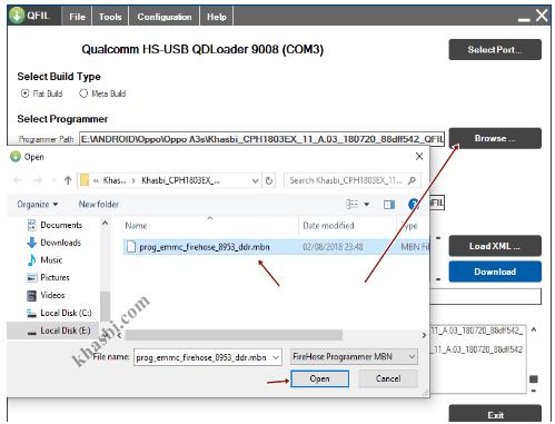 menambahkan file prog emmc