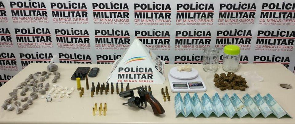 Pm desencadeia Operação ''Contenção'' e desbanca ação de criminosos em Lavras - Foto: PMMG