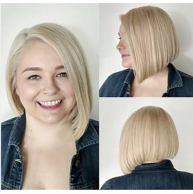 bobs for round faces and fine hair 2019