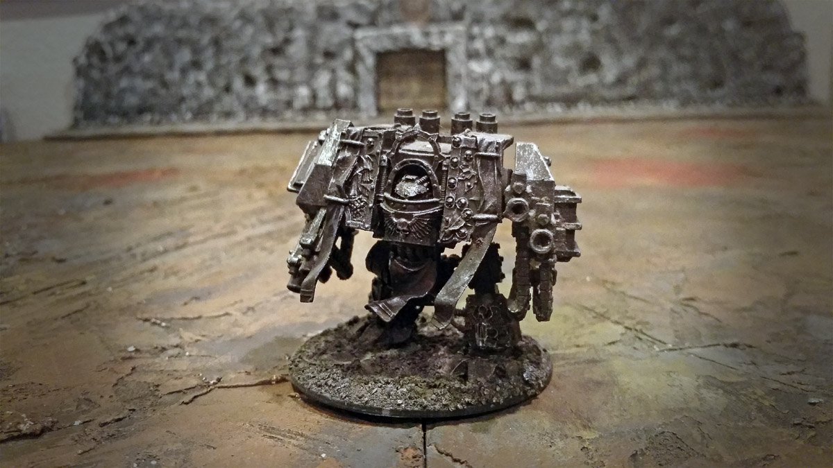 space marines special dreadnought