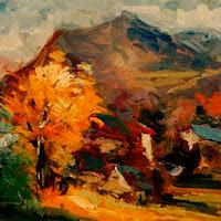 Pintura paisajes en venta Emiliano García Tur