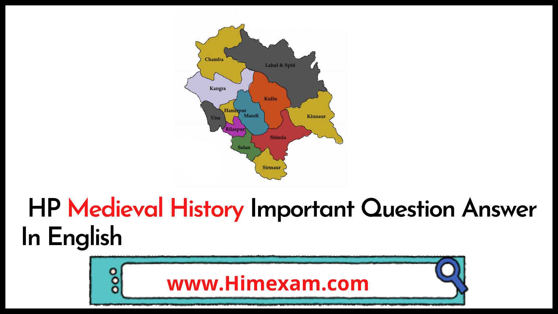 HP Medieval History Important Question Answer In English
